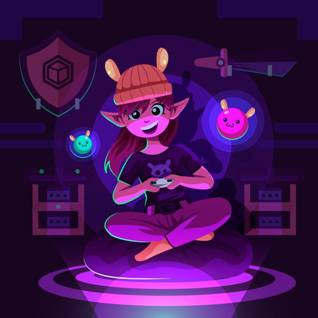 illustrated-girl-character-playing-video-games_52683-37842